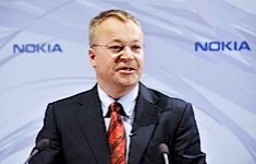 Nokia's new Chief Executive, Stephen Elo...Nokia's new Chief Executive, Stephen Elop speaks during a press conference on September 10, 2010 in Espoo, Finland. The world's largest mobile phone maker Nokia named a new software-oriented chief executive, Microsoft's Stephen Elop, to help it battle slumping profits and an eroding market share in the smartphone market. AFP PHOTO/LEHTIKUVA / Markku Ulander *** FINLAND OUT *** (Photo credit should read MARKKU ULANDER/AFP/Getty Images)
