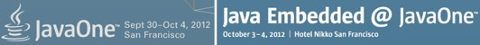 Javaone embedded combined