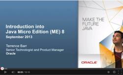 ME 8 webcast screenshot